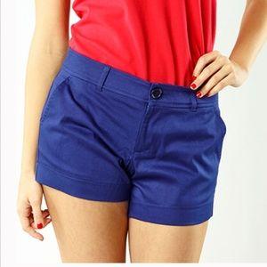 "Navy Shorts 5"" Inseam"